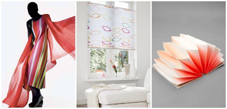 Geplisseerde stof wordt volop toegepast in het interieur. Maak van jouw interieur ook een fashion place!