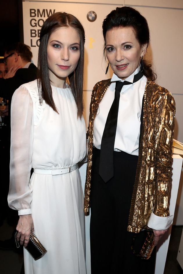 Style-Check: Iris Berben & Nora von Waldstätten @ Berlinale 2013