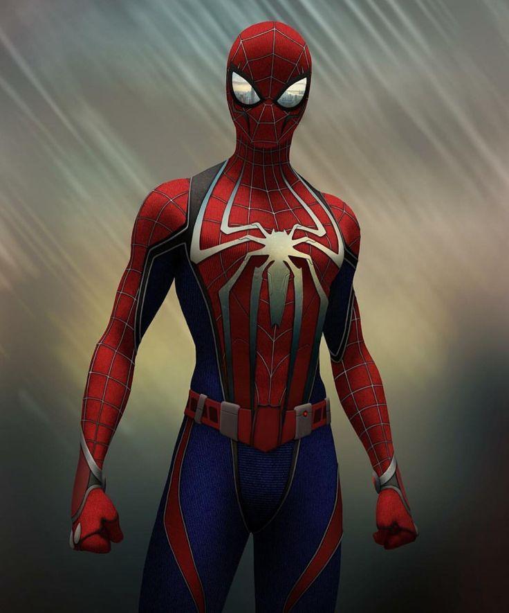 New SPIDERMAN suit
