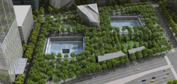 The National September 11 Memorial is a tribute of remembrance & honor to the nearly 3,000 people killed in the terror attacks of Sept, 11, 2001 at the World Trade Center site, near Shanksville, Pa. & at the Pentagon, as well as the six people killed in the World Trade Center bombing in February 1993. The name of every person who died in the 2001 and 1993 attacks are inscribed into bronze panels edging the memorial pools.