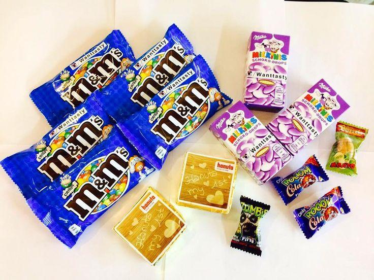 Сладких снов друзья конфеты M&M's 89 конфеты Milka Drops 95 вафля Hanuta 39 жвачки 15 #магазинкрутыхштук #вкусняшки #радость #сладости #сладостиизамерики #сладостиизевропы #сладостиизяпонии #японскиевкусняшки #вкусняшки #милка #печенье #бинбузл #нутелла