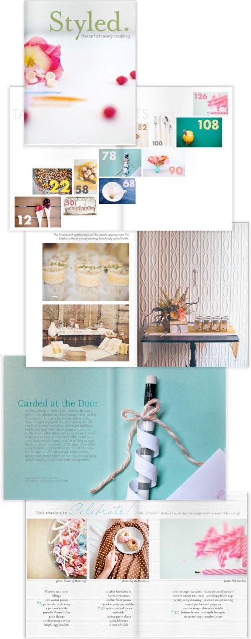 styled e-magazine