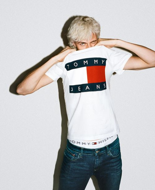 Lucky Blue Smith for Tommy Hilfiger Campaign by Bryant Eslava
