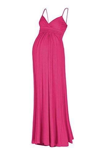 Beachcoco Women's Maternity Sweetheart Party Maxi Dress (...