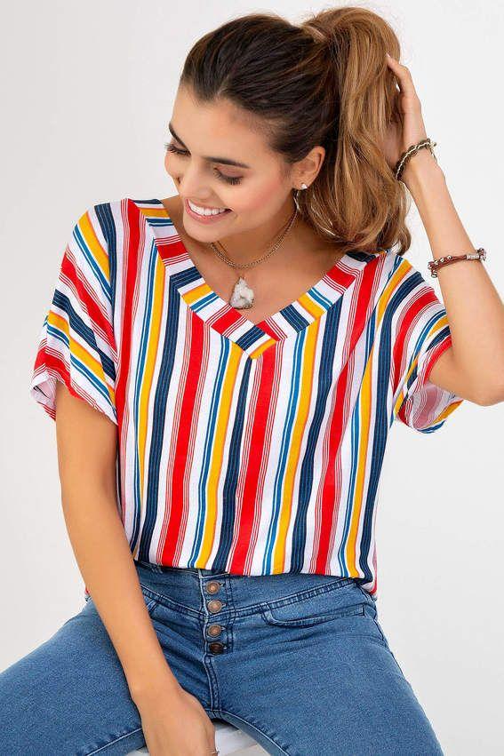 f7cea46d837a Camiseta Manga Corta Estampado | Para MUJERES Pacifika en 2019 ...