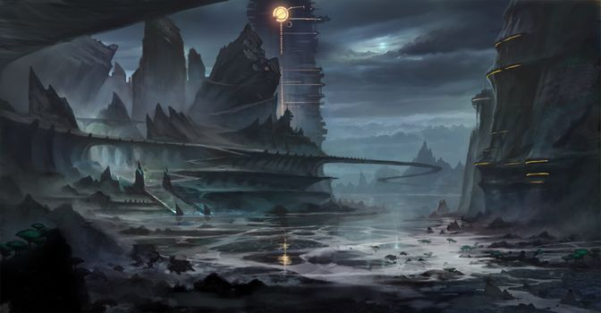 Warhammer Online: Age of Reckoning This is a concept for part of the Gaen Vale dungeon in the High Elf lands. It is the first part of the lead-up to the final boss fight with a demon of Slaanesh. ©...