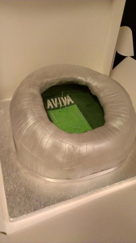 Aviva Stadium Birthday Cake