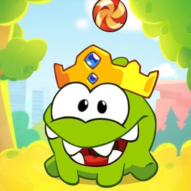 Long live King Om Nom! http://rdrct.it/cuttherope2 #cuttherope #cuttherope2 #omnom #cute #green #little #monster #love #yummy #candy #sweets #playing #play #new #mobile #family #game #games #phone #fun #happy #funny #nommies #smile #nice #love #iphone #ipod #ipad #app #application #puzzle
