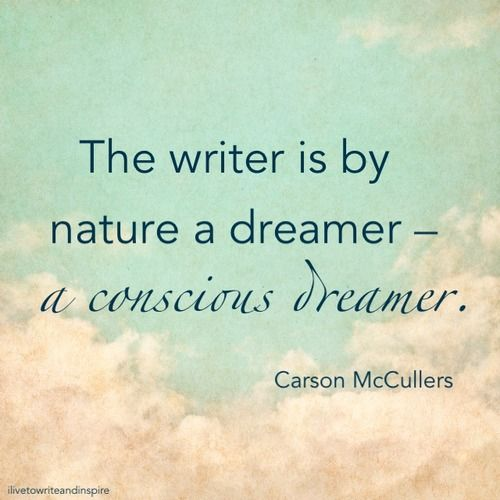 Carson McCullers quote.  Writing Tips by Famous Authors @Michael-McClintock-Poet on Pinterest.