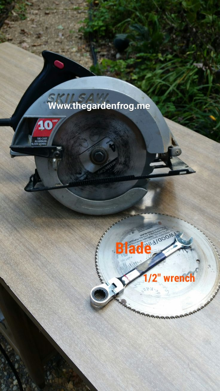 50 best circular saw blade images on pinterest circular saw blades how to change a circular saw blade especially if you have an older skilsaw greentooth Images