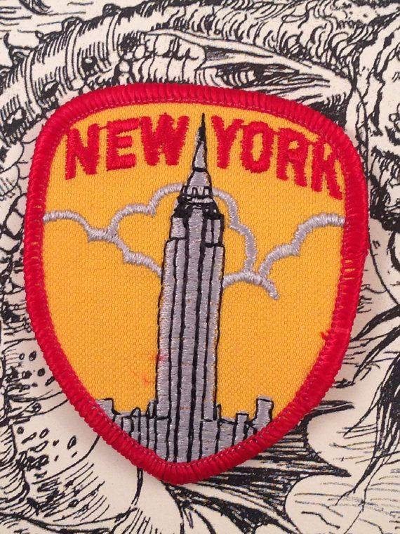 New York City Travel Patch by HeydayRetroMart on Etsy, $7.00