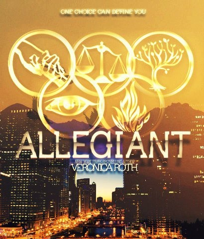 DIvergent- Allegiant, book 3 Finished it a couple days ago.... I won't ruin it for you.