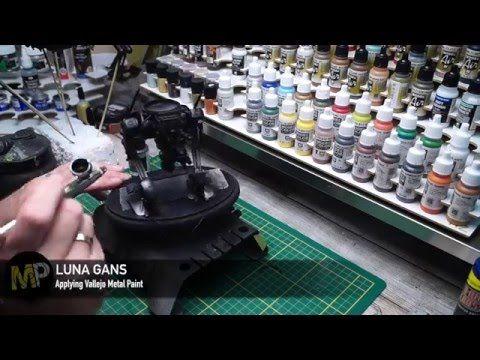 Building the Ma.K LUNA GANS part 15 [Metal Colors] - YouTube