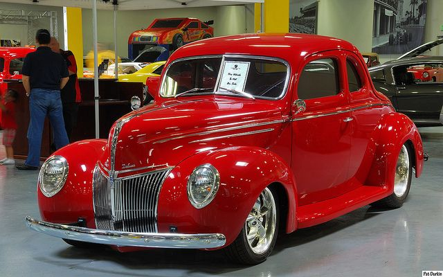 1939 Ford Deluxe Coupe - mod - red - fvl   Flickr - Photo Sharing!