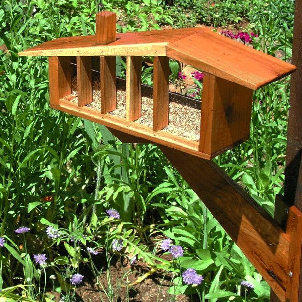 5 totally awesome modern birdhouses bring high style to any garden and attract the birds who help maintain biodiversity in the garden.