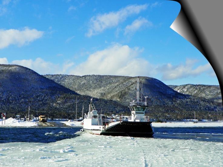 Winter Crossing, Englishtown Ferry Cape Breton