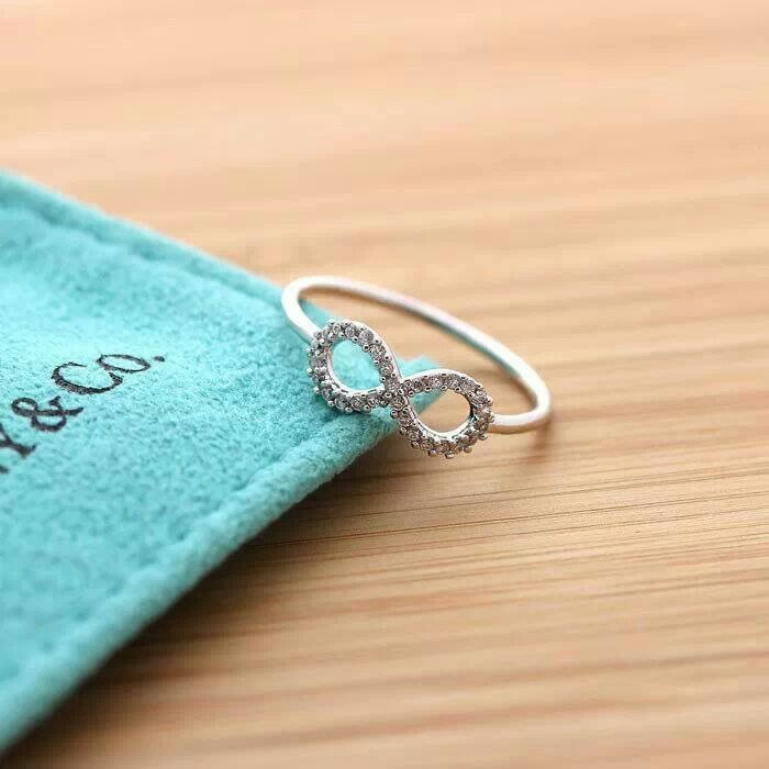 infinity ring so dainty and cute. Perfect for me. I don't care where its from I want this ring!