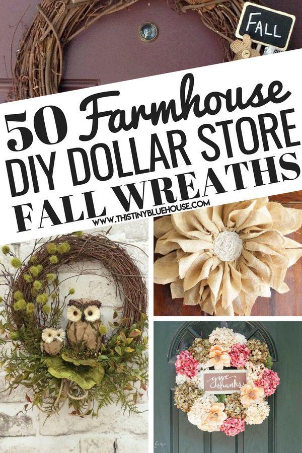 50 Diy Gorgeous Best Cheap Fall Wreath Ideas Fall Wreaths Diy Easy Easy Fall Wreaths Diy Fall Wreath