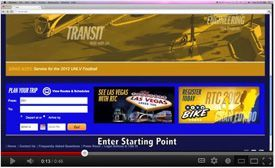 The Deuce Bus Las Vegas || How to Use The Online Transit Trip Planner
