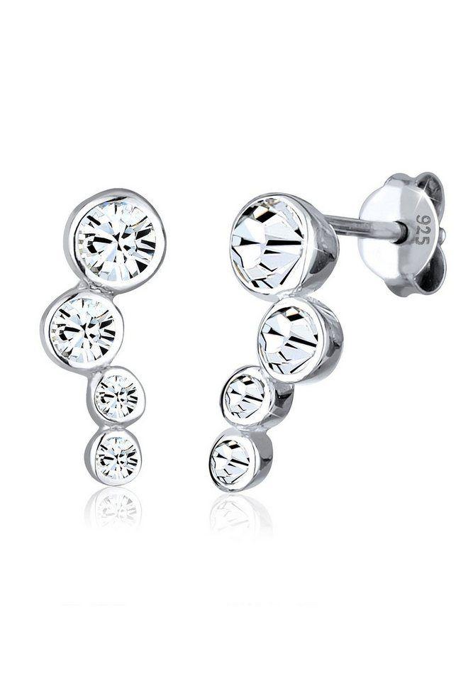 Elli Ohrringe »Rund Swarovski® Kristalle 925 Sterling Silber« ab 29,90€ c5304bc978