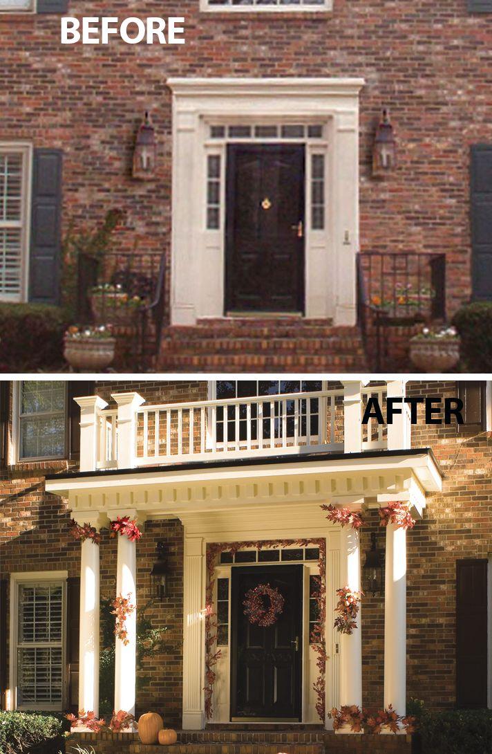 Best 25 traditional brick home ideas on pinterest - Front porch designs for brick homes ...