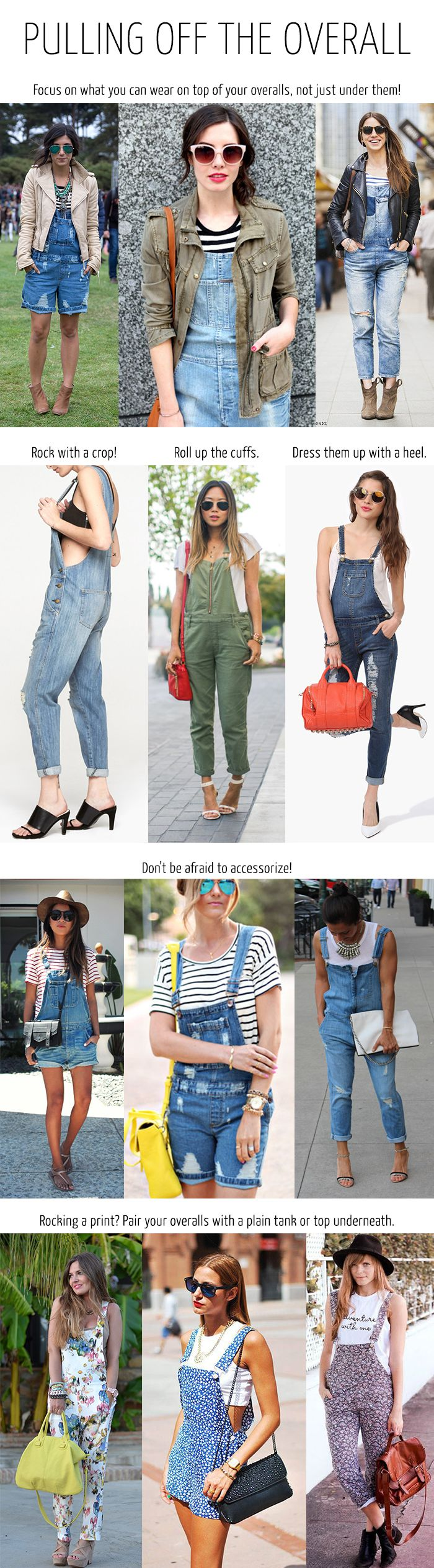 How to Wear Overalls #Fashion #Overalls #CorriStyleHelp #HowtoWear