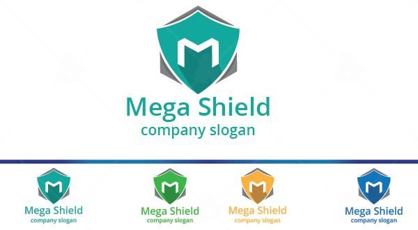 Mega Shield Logo