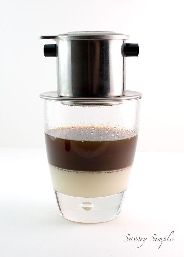 Vietnamese Iced Coffee ~ rich, sweet, creamy and caffeinated!