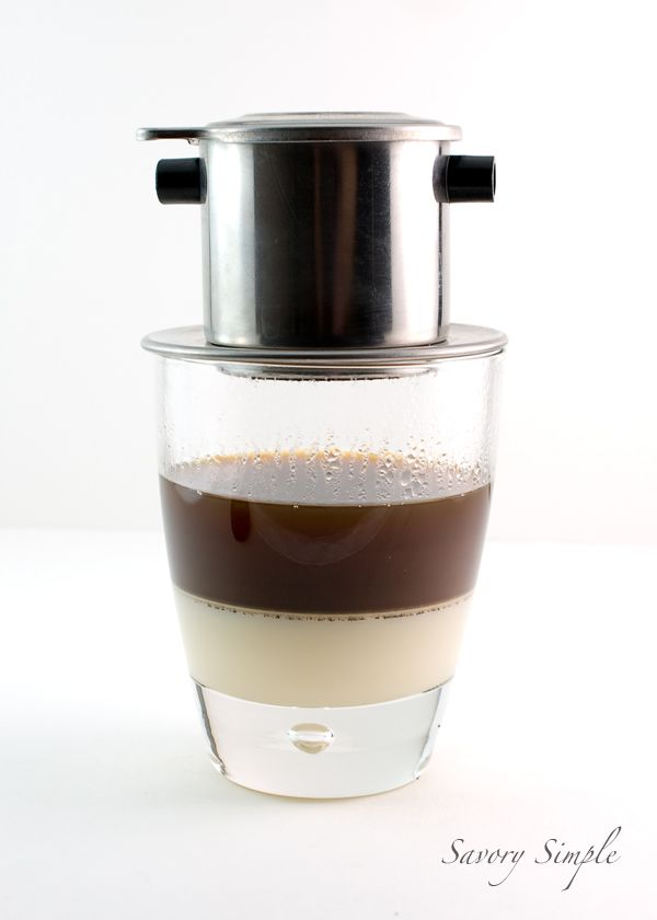 Vietnamese Iced Coffee ~ rich, sweet, creamy and caffeinated!
