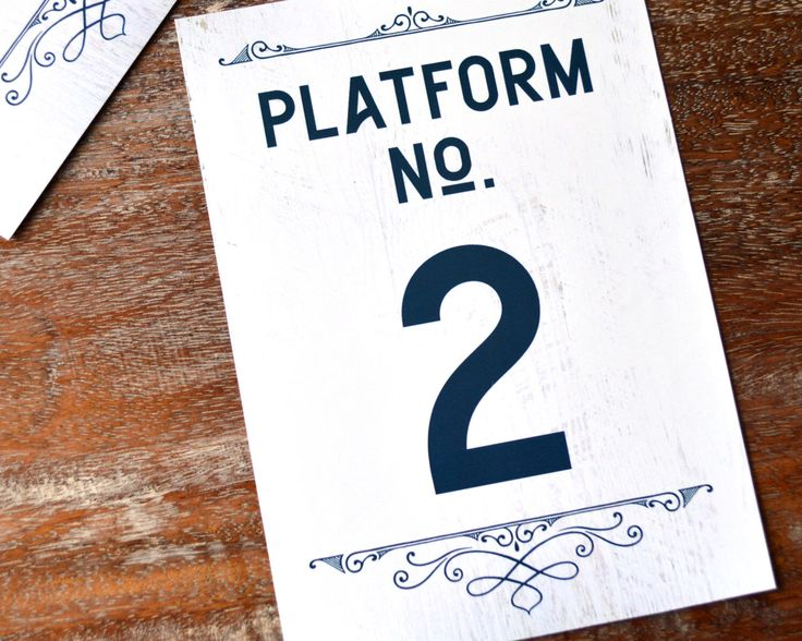 Table Numbers for Vintage Train Theme Wedding, Numbers 1-15, DIY Printable by CandiceScottDesign on Etsy https://www.etsy.com/listing/466449357/table-numbers-for-vintage-train-theme
