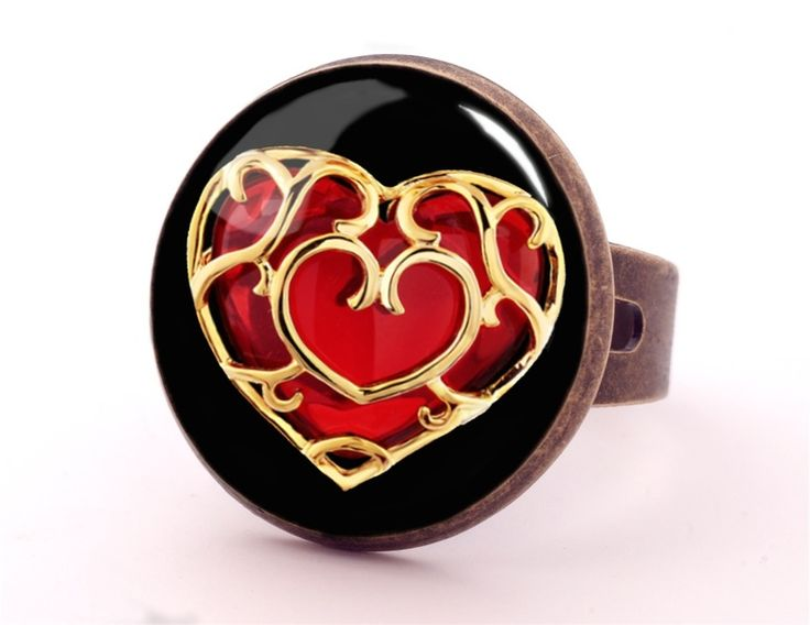 ZELDA Ring, Jewellery, 0346RB from EgginEgg by DaWanda.com