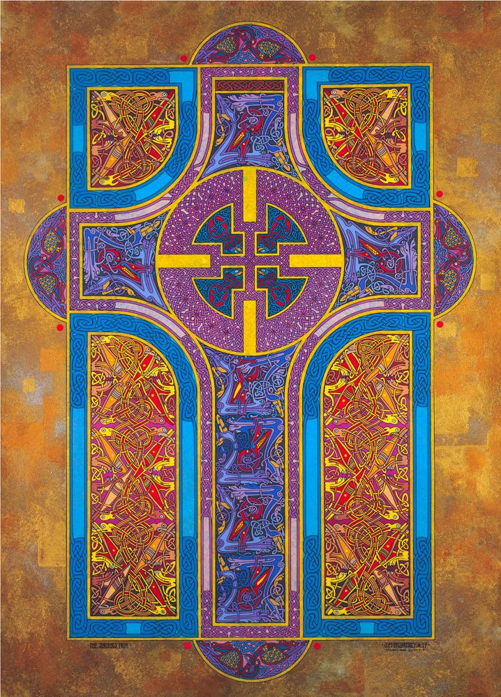 SHINING PATH by Jim Fitzpatrick -- I have bought a number of his calendars and the art is just beautiful!
