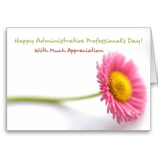 Thank You Quotes For Administrative Professionals Day: 28 Best Administrative Professionals Day Cards Images On