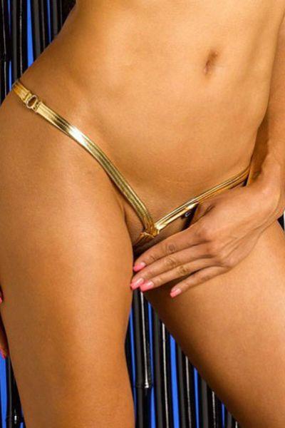 Gold Onyx Ultimate V-string