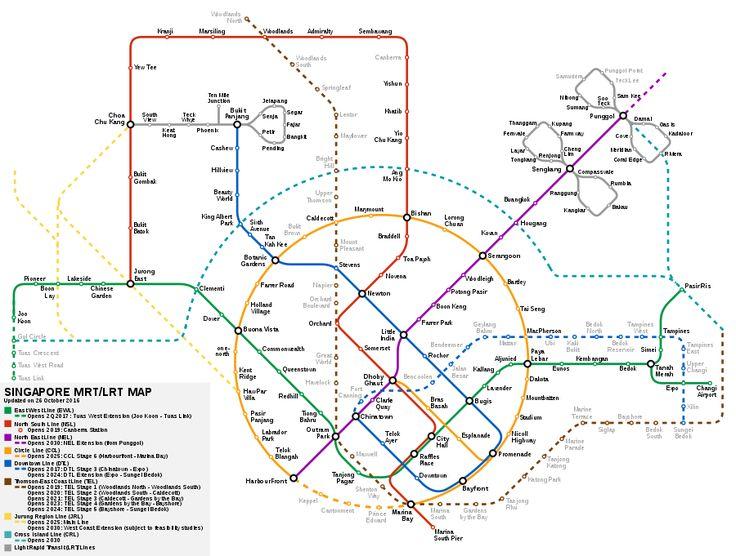 Mass Rapid Transit (Singapore) - Wikipedia