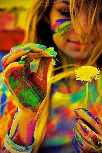 colour is creativity <3