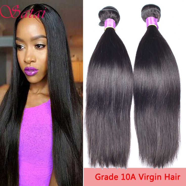 Malaysian Virgin Hair Straight 10A Unprocessed Virgin Human Hair 4 Bundles Cheap Human Hair Extensions Straight Virgin Hair