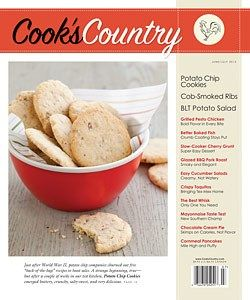 Lots of great recipes from Cook's Country