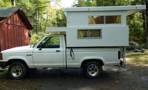 DIY pop top camper