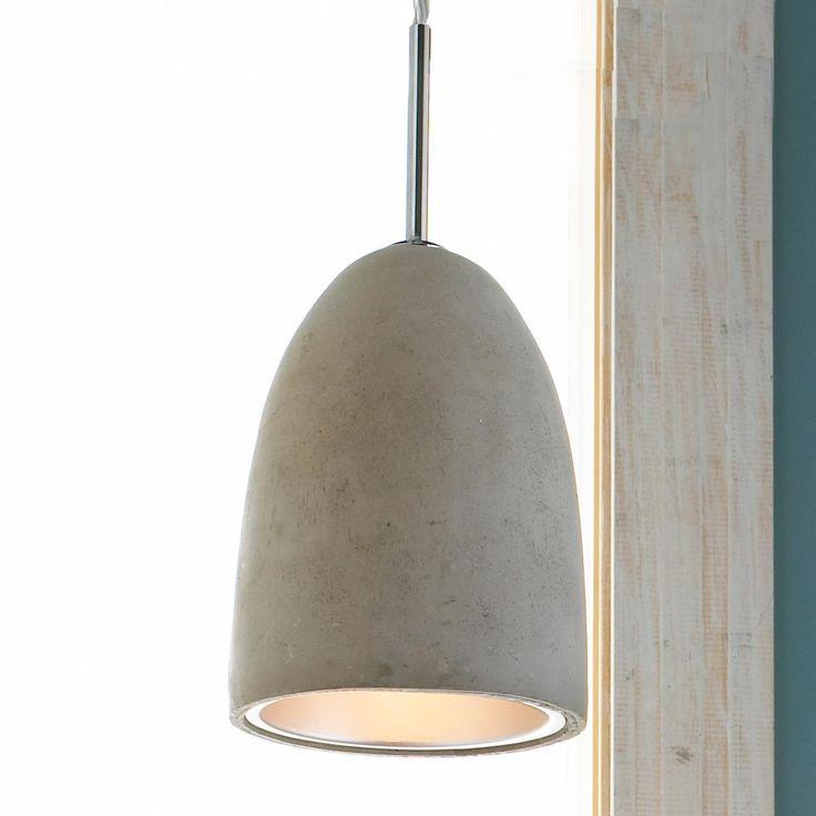 mini concrete dome pendant light kitchen pinterest concrete lamp pendant lighting and. Black Bedroom Furniture Sets. Home Design Ideas
