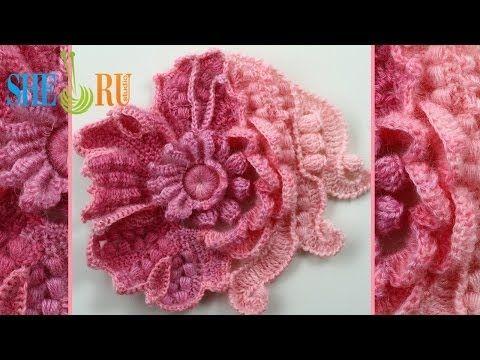 ▶ Scrumbles Freeform Crochet Tutorial 1 Part 1 of 2 Freeform Crochet Series - YouTube