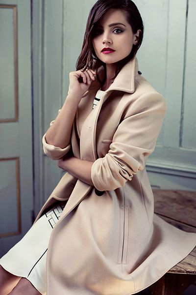 #Jenna_Louise_Coleman #beauty #style #hair