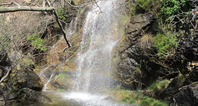 Routsouna waterfall | Naxos.gr
