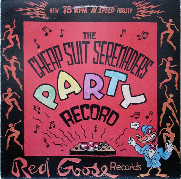 R. Crumb And His Cheap Suit Serenaders* - The Cheap Suit Serenaders Party Record (Vinyl) at Discogs