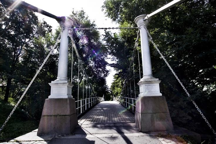 Åmodt bro. Bridge Oslo