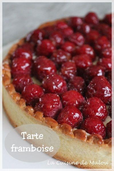 Une tarte à la framboise pas comme les autres (CAP pâtissier) La cuisine de Malou