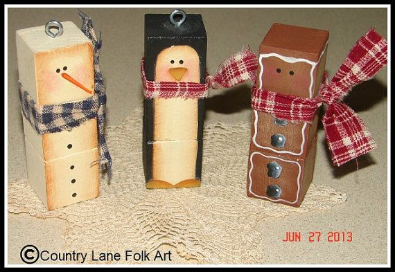 EPATTERN 0008 We three blockheads digital by countrylanefolkart