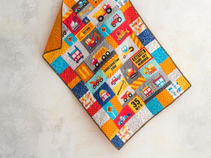 Panel Mixer Workzone Classic Primary Quilt Kit