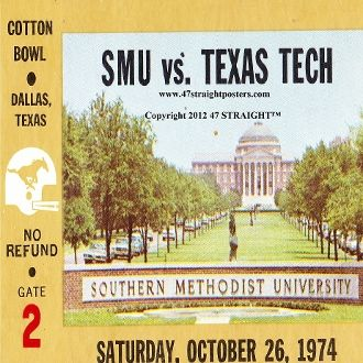 SMU Football Gifts, Texas football gifts. Last minute gifts. Last minute Father's Day Gifts, Best last minute gift ideas. Ceramic drink coasters made from over 2,000 historic college football tickets and other vintage sports art. #lastminutegifts $29.99 Printed in the U.S.A and shipped within 24 hours.