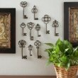 Keys!!! Want, want, NEED!  (Click them on the bottom to view): Metals Keys, Antiques Wall, Lis Wall, Antiques Keys, Kappa, Keys Wall, Keys Art, Fleur De Lis, Antique Keys